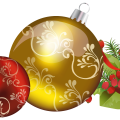 Christmas Ball PNG Image