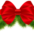 Christmas Ribbon Transparent
