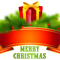 Merry Christmas Text Free Download PNG