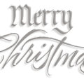 Merry Christmas Text PNG HD