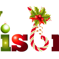 Merry Christmas Text PNG Pic