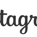 Instagram Text Logo free png
