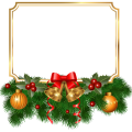 Christmas frame illustration