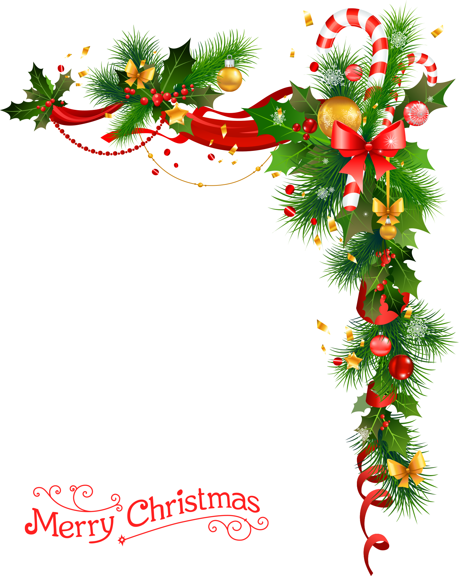 Christmas wreath with bells - Png Press - Transparent png ...