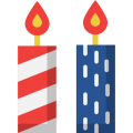 Candles-4th of July 10