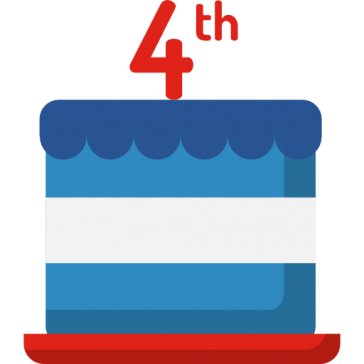 Cake- 4th of July 12