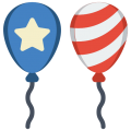 Balloons- 4th of July 6