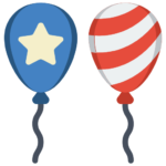Balloons- 4th of July 5