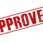 Approved- stamp-PNG image 3
