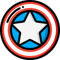 Captain America Shield-4th of July- 13