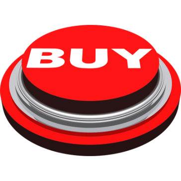 Red buy now button