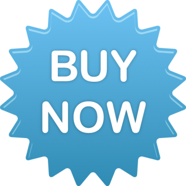 Blue buy now button