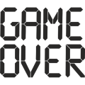 uploads game over game over PNG24 21