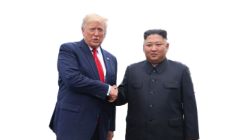 Donald trump and kim jon un 4