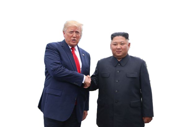 Donald trump and kim jon un 14